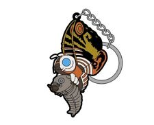 Mothra (Adult) & Mothra (Larva) 92 Cospa Rubber Key-chain