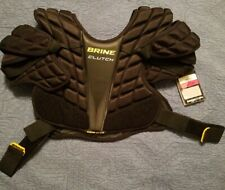 Brine Clutch Sp Black Lacrosse Shoulder Pads Small Csp15-Bk-M New with Tags.