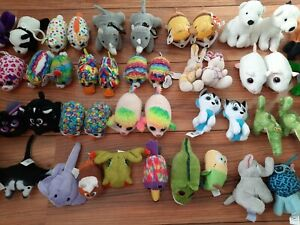 58 Pieces of Kids Small Soft Toys