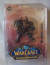 Warcraft WoW Zwergen Krieger Dwarf Warrior Thargas Anvilmar OVP Action Figur