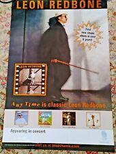 Leon Redbone Vintage Record Store Promo Tour Poster Any Time Never Used