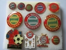j1 lotto 12 pins lot FC BAYERN MÜNCHEN FC club football calcio spille