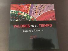 Sellos España libro 2017- vacío sin sellos como nuevo