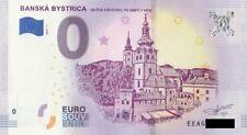 0 Euro Schein Slowakei Die Stadtburg Neusohl / Banska Bystrica Null € 2018 1