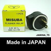 Suzuki Turn Signal Winker Indicator Flasher Relay 6 V. 2 Prong Pin Japan NEW