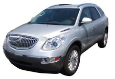 AVS for 08-12 Buick Enclave Aeroskin Low Profile Hood Shield - Chrome - avs62203