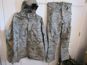 US Air Force ABU Tiger Stripe Goretex Set (Pants & Parka)  LARGE