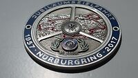 BMW Grille Badge Nurburgring M Sport M Tech MetalEmblem 1 2 3 4 5 6 7 Z Series