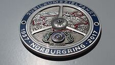 BMW Grille Badge Nurburgring M Sport M Tech MetalEmblem 1 2 3 4 5 6 7 Z Series