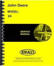 John Deere 24 Skid Steer Loader Service Manual JD-S-TM1042