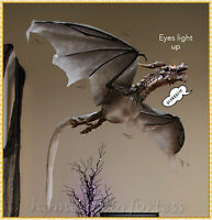 Spooky Flying Dragon Animated Halloween Prop Haunted House Hanging Decoration
