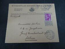 Nederland 171 op brief fa Noording Groningen, boven en rechts gestempeld