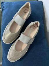 Mephisto Air Relax Genuine Leather Womens Mary Jane Shoes Shock Absorber Sz 9