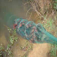 16 Imports Crab Fish Eels Crawdad Shrimp Minnow Long Fishing Bait Trap Nets Cage