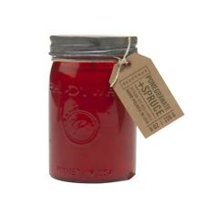 Paddywax Relish 9.5 oz Candle Red Pomegranate And Spruce Collection Large Jar