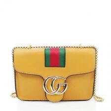 Ladies Shoulder Handbag Gold Chain Womens Cross Body Bag Satchel Tote Bags New u