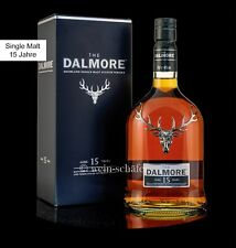 DALMORE 15 Jahre Single Malt Scotch Whisky 40% 0,7l Highlands Schottland