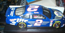RUSTY WALLACE 1/32  SCALE ACTION MILLER LITE HARLEY DAVIDSON CAR , HOOD OPENS