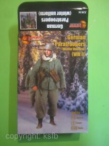 NEU 1/32 MARS 32034 WKII Deutsche Fallschirmjäger Winter Uniform Grüne Teufel