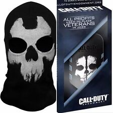 ADULT AJAX FACE MASK HOOD L+CALL OF DUTY GHOST MODERN WARFARE ACTIVISION DOG TAG