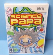Science Papa Nintendo Wii BRAND NEW FACTORY SEALED