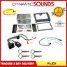 Double Din CD Stereo Fitting Kit Fascia Panel, Stalk Control For Audi TT 2007>