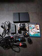 Playstation 2 slim + Controller + Singstar + Micros