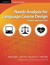 Needs Analysis for Language Course Design: A Holistic Approach to ESP, Tulkki, H