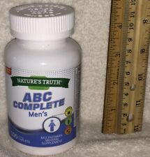 ABC Multi for Men, from Nature's Truth.   100 caplets, 35 Ingredients