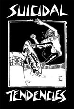 Suicidal Tendencies Skateboard Sticker 4.2in Skull Pool black//white