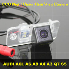 FOR AUDI A6L A6 A8 A4 A3 Q7 S5 Car CCD Night Vision Rear View Parking Camera