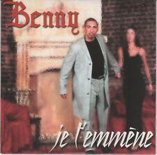 RARE BENNY B  ( Je t'emmene ) CD 2 TITRES INTROUVABLE 2000