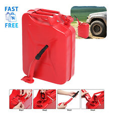 Jerry Can Gas Gasoline Fuel 5 Gallon Container Army Military Metal Steel Tank