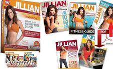 JILLIAN MICHAELS BODY REVOLUTION 15 DVD SET Phase 1, 2 & 3 +FREE Fitness BONUSES