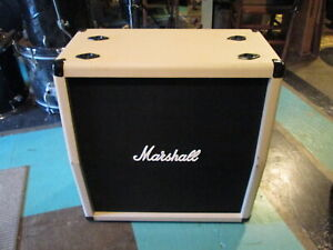 Marshall Guitar Cabinet half loaded 4x12 quasi 2x12