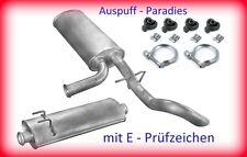 Abgasanlage Schalldämpfer Renault Master II 2.5 cDi Bus / Kasten / Pritsche +Kit