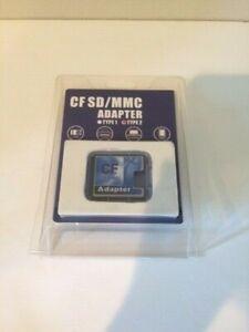New in Box CF SD/MMC ADAPTER Multi Media Card Made in Taiwan