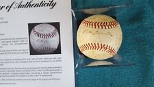 1950 DETROIT TIGERS AUTOGRAPHED SIGNED  BASEBALL 28 SIGNATURES  4 HOFS PSA  DNA