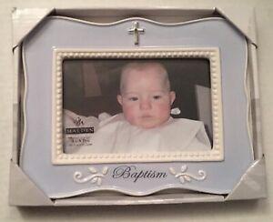 "Malden 4x6"" Baptism Frame 9x7x1 Great Gift"