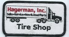 Hagerman Inc employee/driver patch 2-1/2 X 4-1/2 Tire Shop sales,service