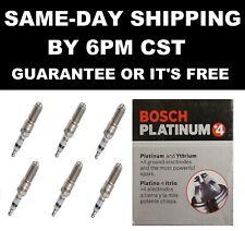 6 Bosch Platinum+4 4481 Spark Plugs 2007 2008 2009 JEEP WRANGLER 2009 GMC ENVOY