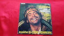 Disco 45 giri -  ENNIO MORRICONE - Viva la revoluction - colonna sonora - 1969