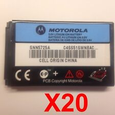 Lot Of 20 Motorola T730 T722 T721 T720 C331T Battery