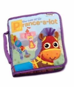 NEW Lamaze Discovery Cloth Book:  The Tale of Sir Prance-a-lot