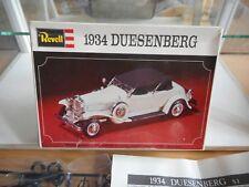 Modelkit Revell 1934 Duesenberg on 1:48 in Box