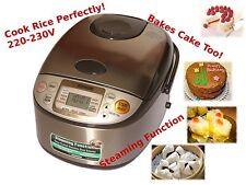 ZOJIRUSHI Micom Rice Cooker 1L, NS-TSQ10, Bakes Cake 220V-230V, Gift Idea, NEW