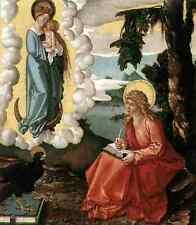 Baldung GRIEN Hans St John At Patmos 5 stampa in A4