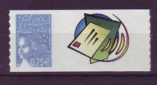 3729B- TIMBRE PERSONNALISE  MARIANNE 0€75 GRAND LOGO