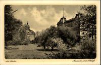 Gotha Thüringen Postkarte ~1910/20 Partie am Museum und Schloß Kunst-Verlag Horn