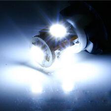 2x WHITE LED Bulbs 5-SMD T10 Side / Under Door Courtesy Lights